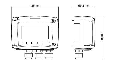 KIMO CP210 Staudruckanemometer